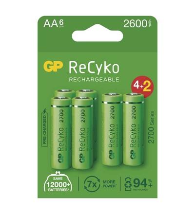 Nabíjecí baterie GP ReCyko 2700 AA (HR6) B2127V
