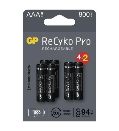Nabíjecí baterie GP ReCyko Pro Professional AAA (HR03) B2218V