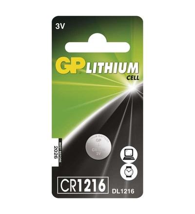 Lithiová knoflíková baterie GP CR1216 B15651