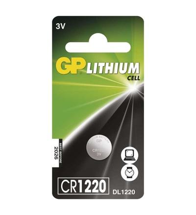 Lithiová knoflíková baterie GP CR1220 B15201