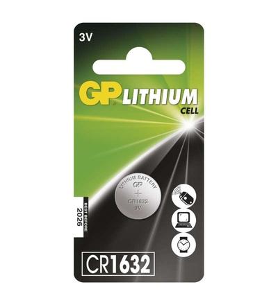 Lithiová knoflíková baterie GP CR1632 B15951