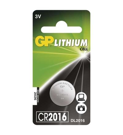 Lithiová knoflíková baterie GP CR2016 B15161