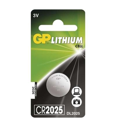 Lithiová knoflíková baterie GP CR2025 B15251