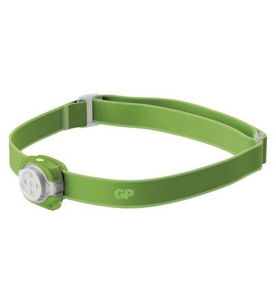 LED čelovka a světlo GP Everybody CH31, 40 lm, zelená P8551G