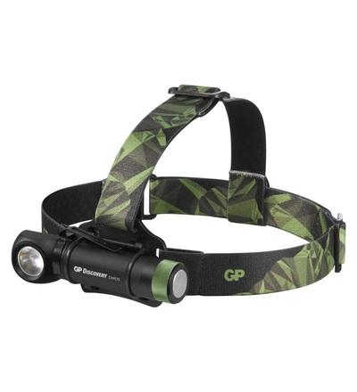 LED nabíjecí čelovka GP Discovery CHR35, 600 lm P8555
