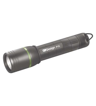 LED ruční svítilna GP Design P15, 150 lm P8401