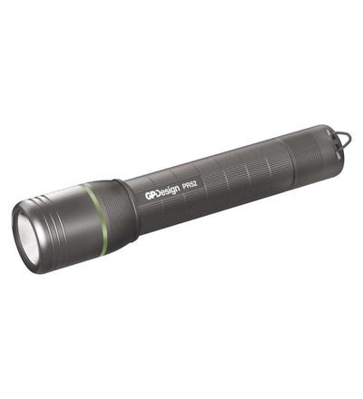 LED nabíjecí ruční svítilna GP Design PR52, 450 lm P8411