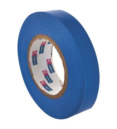 Emos Izolační páska PVC 15mm / 10m modrá F61514