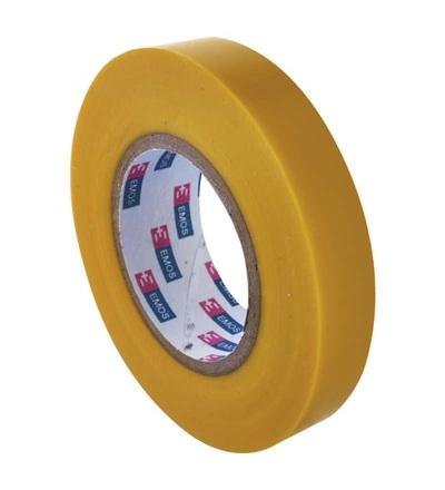 Emos Izolační páska PVC 15mm / 10m žlutá F61516
