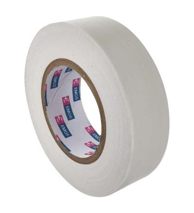Emos Izolační páska PVC 19mm / 20m bílá F61921