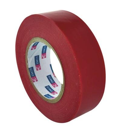 Emos Izolační páska PVC 19mm / 20m červená F61923