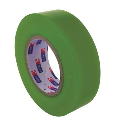 Emos Izolační páska PVC 19mm / 20m zelená F61929
