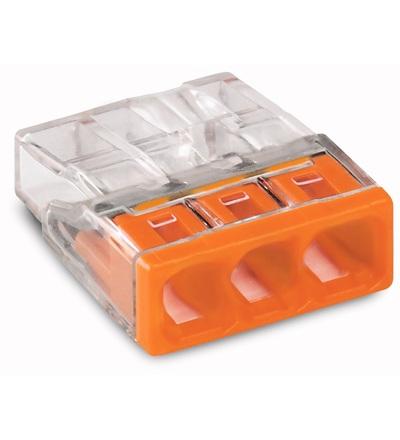 WAGO 2273-203 instalační krabicová rychlosvorka 3x2,5mm