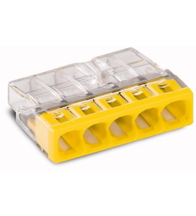 WAGO 2273-205 instalační krabicová rychlosvorka 5x2,5mm