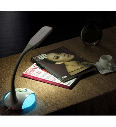 Stolní LED lampa Q8 se světelným efektem, 5W