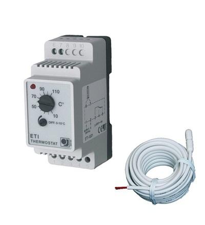 Regulátor teploty pro distribuční desku ETI/F-1551 V-systém 2372