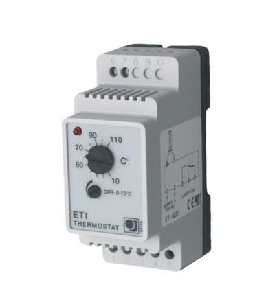 Regulátor teploty pro distribuční desku ETI/F-1221 V-systém 2373
