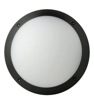 MEGAMAN přisazené LED svítidlo FONDA 10.5W 800lm/840 IP66, černá F51100SM/840/BK