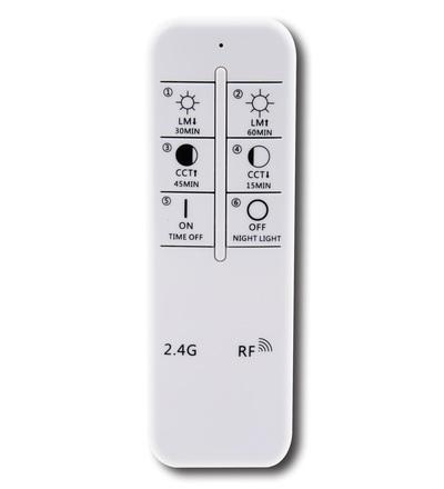 LED svítidlo+dálkový ovladač CLR26W/RC/AS - LCL533