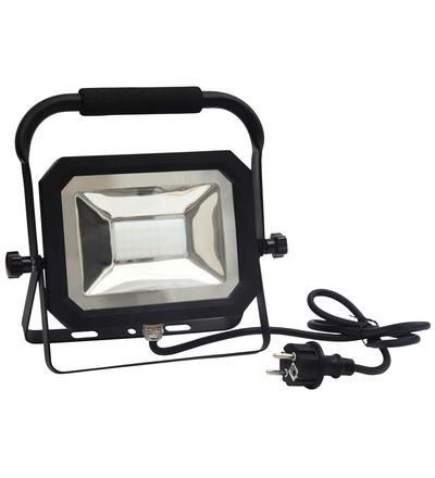 LED reflektor slim+držák 30W/4000K - LF1023H
