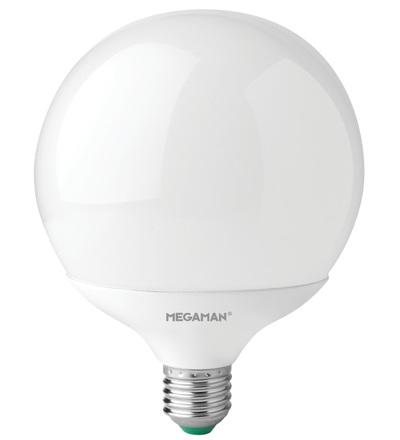MEGAMAN LED globe G120 14W E27 teplá bílá 1521lm LG7714/WW/E27