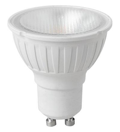 MEGAMAN LED reflektor 5.5W GU10 teplá bílá 500lm/35° stmívatelný LR4605.5dDG/WW/WFL