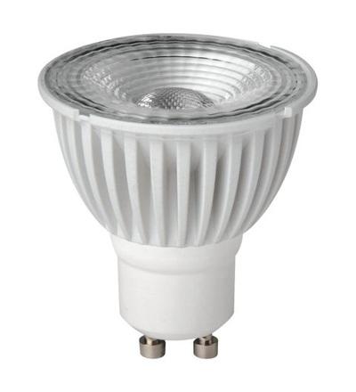 MEGAMAN LED reflektor 7W GU10 neutrální bílá 550lm/35° stmívatelný LR5907dHR75H35D840