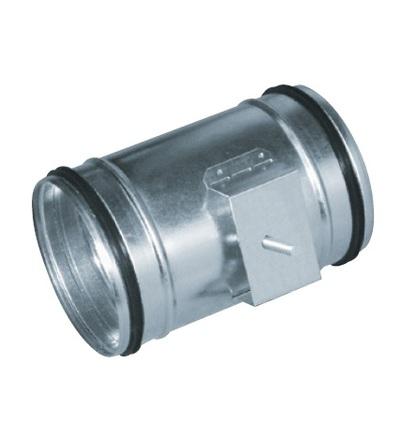 Uzávěr pro ventilační systém Spiro regulační klapka DN160 V-systém RK1315