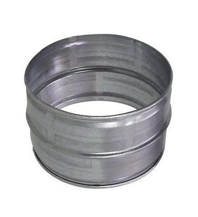 Potrubní vsuvka / pouzdro pro ventilační systém Spiro spojka DN160 V-systém RK1318