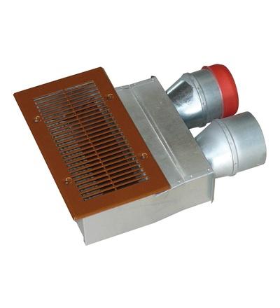 Napájecí / odvzdušňovací ventil podlahový box 2x75 V-systém RK1504