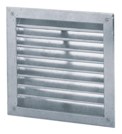 Vícenásobná deska pro ventilační systém fasádní mřížka hranatá 200x200 V-systém RK2105