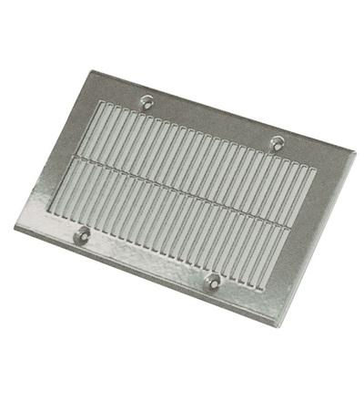 Vícenásobná deska pro ventilační systém podlahová mřížka 250x135, bílá V-systém RK2201