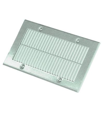 Vícenásobná deska pro ventilační systém podlahová mřížka 250x135, nerez V-systém RK2202