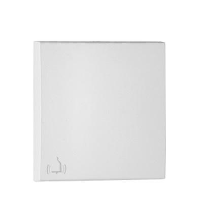 ELKO EP 90605 TBR - bílá Kryt tlačítka - symbol ZVONEK 90605TBR