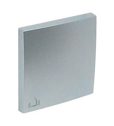 ELKO EP 90605 TAL - hliník Kryt tlačítka - symbol ZVONEK 90605TAL