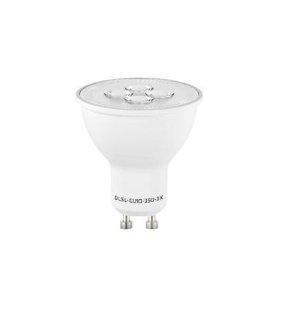 ELKO EP LED žárovka DLSL-GU10-350-3K LED bodovka, stmívatelná, GU10, 350 lm 6556