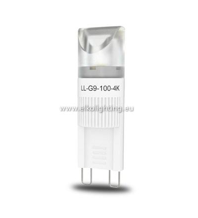 ELKO EP LED žárovka LL-G9-100-4K LED G9 - nahrazuje klasickou 7W žárovku, studená bílá 6450
