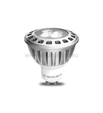 ELKO EP LED žárovka LSL-GU10-350-3K LED Spot max, nahrazuje klasickou 50W halogenku, teplá bílá 6419