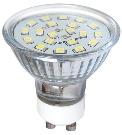 GREENLUX LED20 SMD 2835 GU10 2W-teplá bílá GXLZ119
