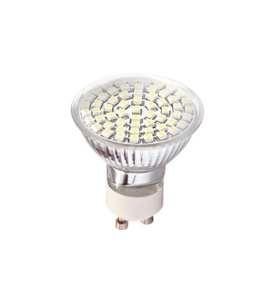 GREENLUX DAISY LED60 SMD 3528 GU10 teplá bílá GXDS004
