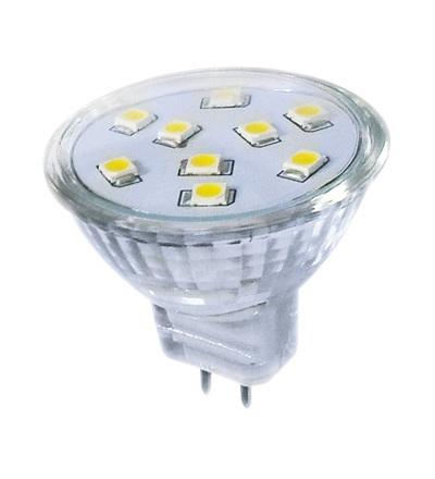GREENLUX LED9 SMD 2835 MR11 2W-teplá bílá GXLZ122