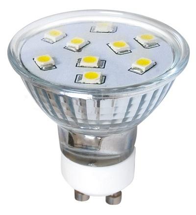 GREENLUX LED9 SMD 2835 GU10 2W-teplá bílá GXLZ123