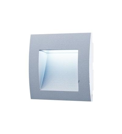 GREENLUX WALL 10 1,5W GRAY studená bílá GXLL002