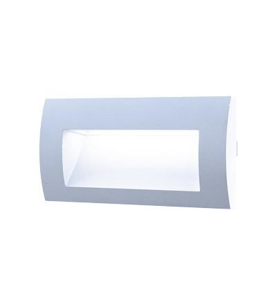GREENLUX WALL 20 3W GRAY studená bílá GXLL004