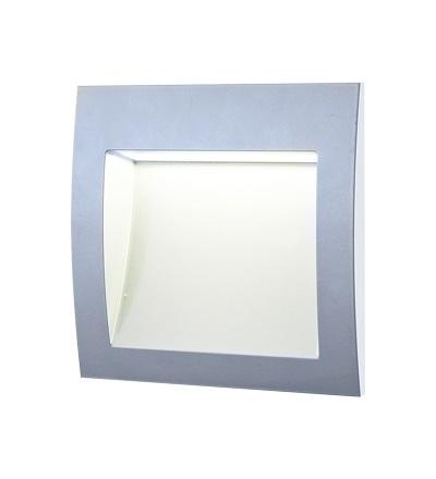 GREENLUX WALL 30 3W GRAY teplá bílá GXLL012