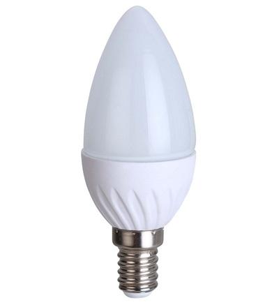 GREENLUX DAISY LED CANDLE 5W E14 teplá bílá GXDS016