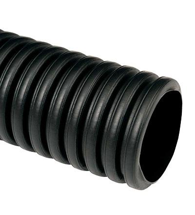 KOPOFLEX 90 - ohebná dvouplášťová korugovaná chránička 50 m (černá) KF 09090 FA
