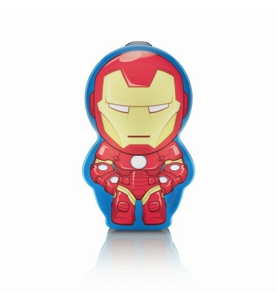 Philips Disney Iron Man BATERKA LED 0,3W bez baterií 71767/35/16