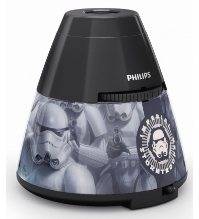 Philips Disney Star Wars PROJEKTOR LED 0,1W bez baterií 71769/99/16
