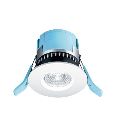 THORNeco FRED ohnivzdorný LED downlight, výřez 75mm, 550lm, 7W, 4000K, IP65, IK04 96630340